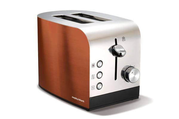Morphy Richards Copper Accents 2 Slice Toaster