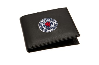 Rangers FC Embroidered Wallet (Black)