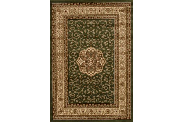 Medallion Classic Pattern Rug Green 400x300cm