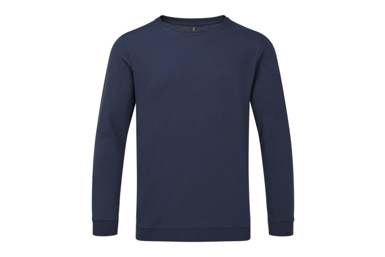 Anvil Unisex Light Terry Crew Sweater (Navy) (3XL)