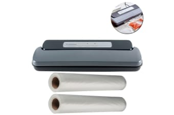 Westinghouse Vacuum Sealer Food/Meat Seal/Machine w/ 2x 3m/28cm Storage/Bag Roll