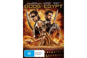 Gods of Egypt DVD Region 4