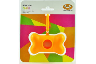 Bon Ton Fluro Poop Bag Holder Orange