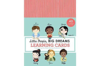 Little People, BIG DREAMS Learning Cards - 40 Fascinating Fact Cards