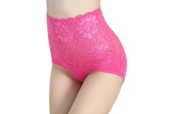 Women's Underpants Panties High Waist Underwear L