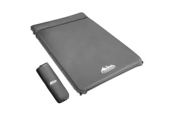 Double Size Self Inflating Mattress (Grey)