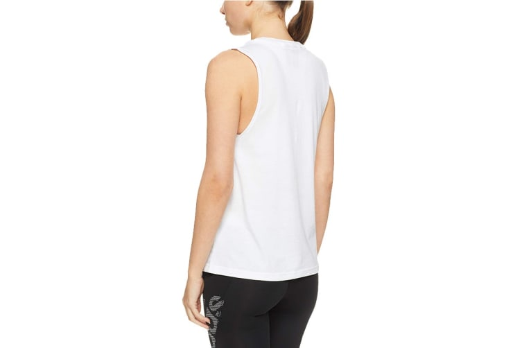 Adidas Women's Essential Solid Tank (White/white, Size S)