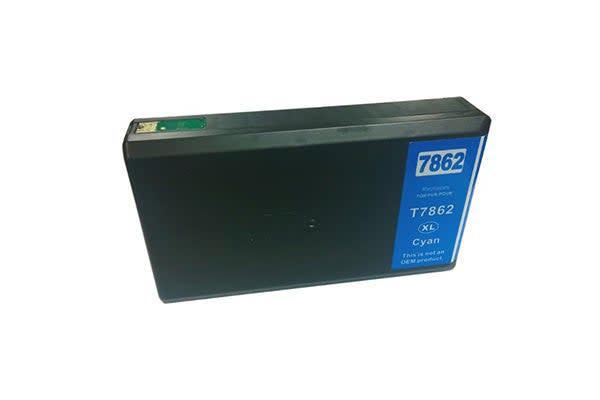 786XL Pigment Cyan Generic Ink Cartridge