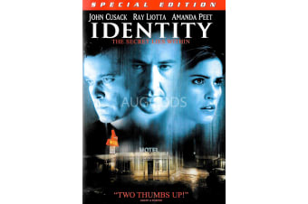 Identity - John Cusack, Ray Liotta - Region 1  - Region 1 DVD  Preowned: Excellent Condition