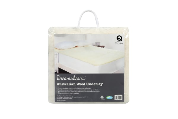 Wool Underlay King Single Bed