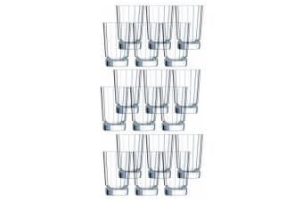 18PK Cristal D'Arques Macassar 360ml Highball Hiball Glass Glasses Bar Tableware