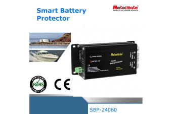 Motormate 24V 60A Max Smart Battery Protector Fully automatic with remote power ON OFF controls