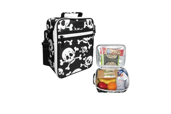 Sachi Style 225 Insulated Lunch Bag Skulls