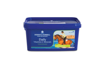 Dodson & Horrell Daily Vitamins And Minerals Horse Supplement (Blue)