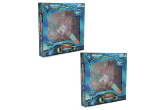 2x Dream Works How To Train Your Dragon 3 Press O Matic Board Game Play Kids 3y+