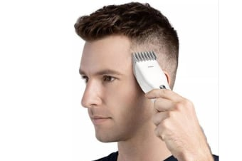 USB Fast Charging Electric Hair Clipper - WHITE