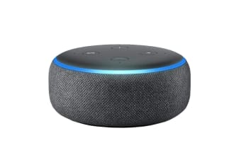 Amazon Echo Dot (3rd Generation, Charcoal Fabric)