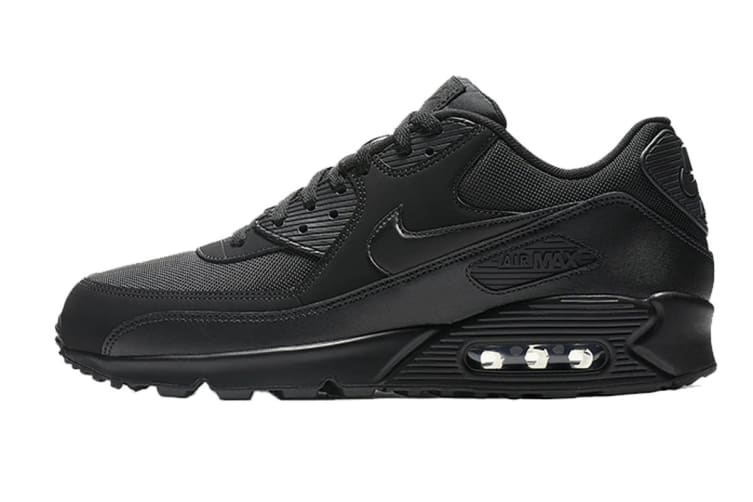 Nike Men's Air Max 90 Essential (Black, Size 9.5 US)