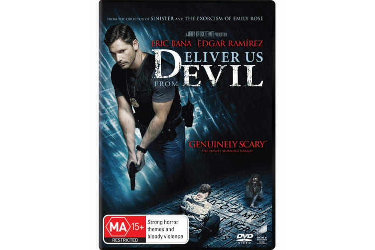 Deliver Us from Evil DVD Region 4
