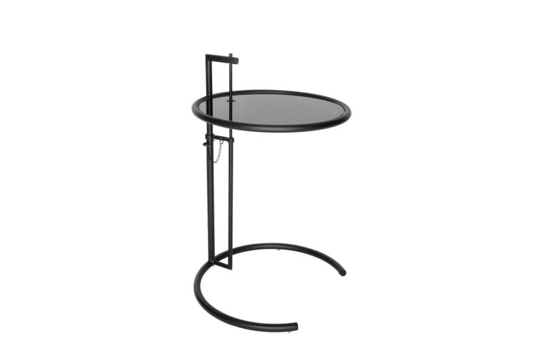 Replica Eileen Gray Adjustable Cigarette Table | Matte Black
