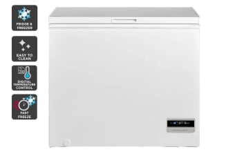 Kogan 198L Interchangeable Chest Fridge and Freezer - White