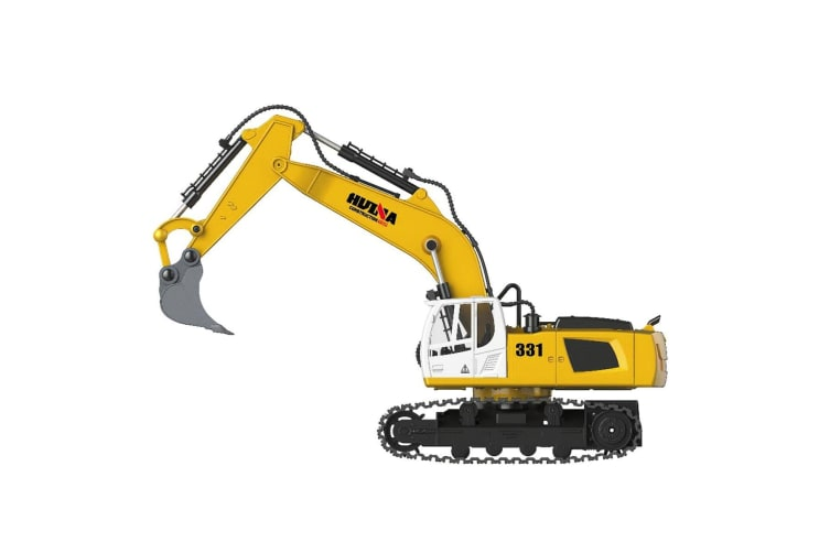 Kids Toy Vehicles Remote Control Excavator Mini Digger Model USB Charging