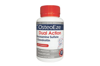 Herron OsteoEze 60 Tablet Dual Action Glucosamine Sulfate/Chondroitin Joint Care