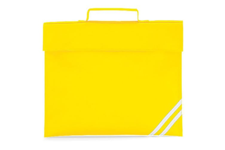 Quadra Classic Book Bag - 5 Litres (Yellow) (One Size)