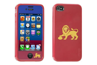 Gecko AFL Licensed iPhone 4/4S Case - Brisbane