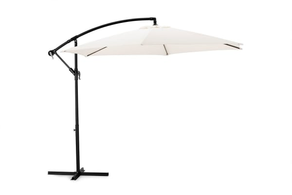 Komodo Outdoor Cantilever Umbrella (Beige)