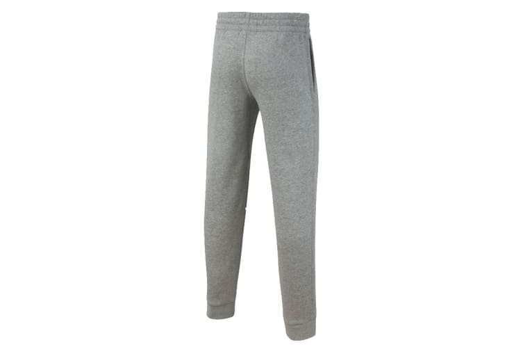Nike Boy's Trousers (Dark Grey Heather/White, Size S)