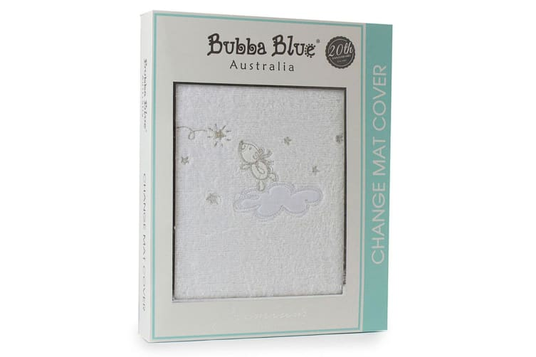 2PK Bubba Blue 48x82cm Wish Upon A Star Change Mat/Pad Cotton Cover Baby/infant