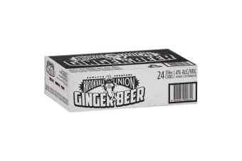Brookvale Union Ginger Beer 24 Pack 330mL Carton