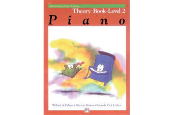Alfred's Basic Piano Library Theory, Bk 2