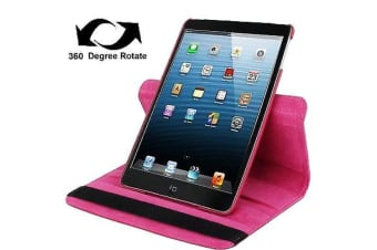 For iPad mini 1 / 2 / 3 Case  Durable High-Quality Leather Cover Magenta