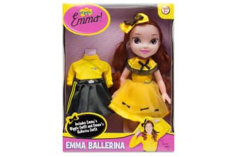 Wiggles Emma 15-inch Doll with Ballerina Outfit
