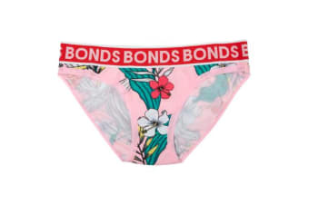 Bonds Girls New Era Bikini (Pink Floral)