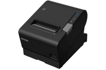 Epson TM-T88VI-241 Receipt Printer Black Serial + built-in Ethernet & built-in USB with Power