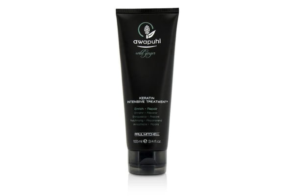 Paul Mitchell Awapuhi Wild Ginger Keratin Intensive Treatment (For Dry and Damaged Hair) (100ml/3.4oz)