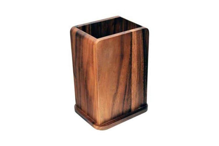 Davis & Waddell Essentials Acacia Utensil Holder 20x11.5x14.5cm