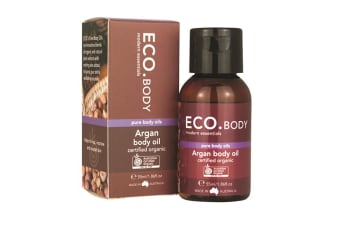 Eco Modern Essentials Body Oil Certified Organic Argan 55ml