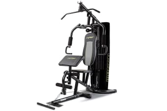 HPF Multi Home Gym Station Bench Press Preacher Cable Machine Back Equipment