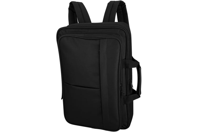 Bullet Wichita 15.4in Laptop Conference Backpack (Solid Black) (37.5 x 7.3 x 25cm)