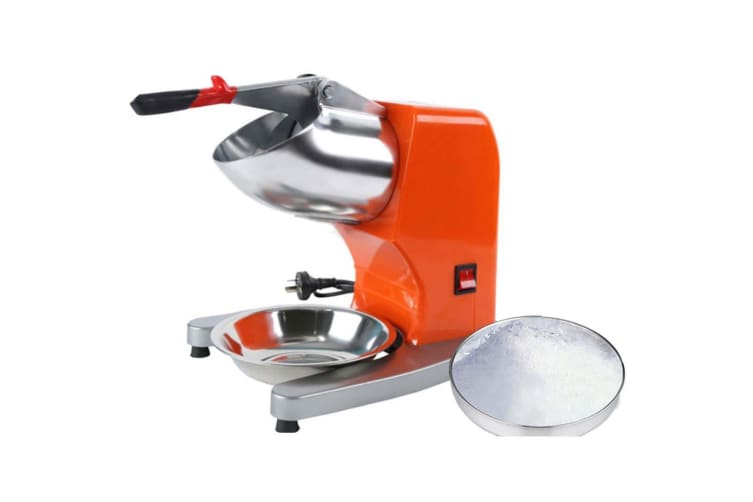 SOGA 2x Commercial Electric Ice Shaver Crusher Slicer Machine Smoothie Maker