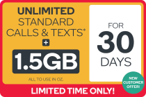 Kogan Mobile Prepaid Voucher Code: SMALL (30 Days | 1.5GB) - NEW CUSTOMERS ONLY
