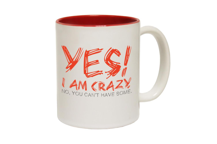 123T Funny Mugs - Yescrazy - Red Coffee Cup