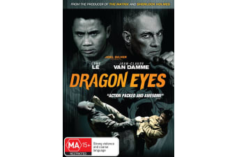 Dragon Eyes DVD Region 4
