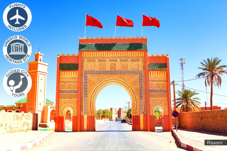 MOROCCO: 14 Day Marvellous Morocco Tour Including Flights for Two