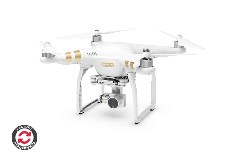 fa7f5a182b4 DJI Phantom 3 4K with Integrated UHD 4K Stabilised Camera - Official DJI  Refurbished Drone