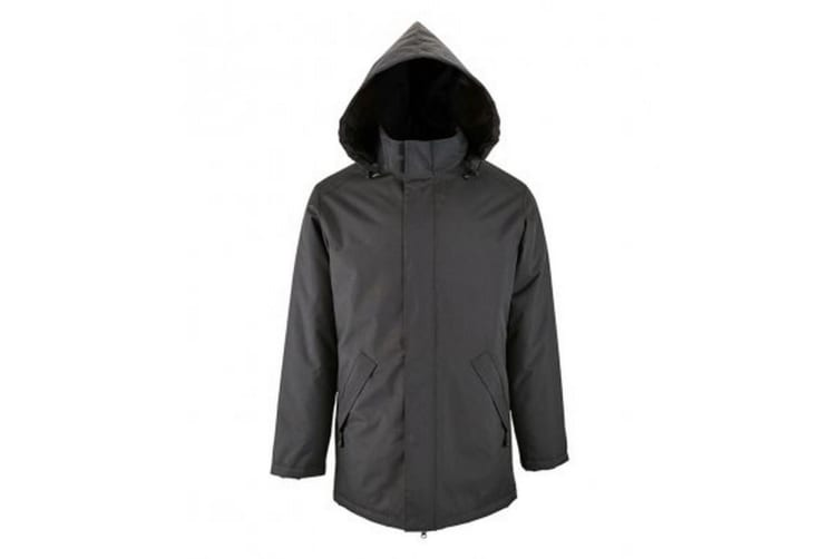 SOLS Unisex Adults Robyn Padded Jacket (Charcoal) (S)